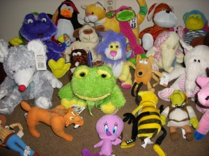 Animals I Have Rescued From Claw Machines